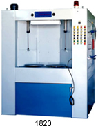 automatic rotary indexing table blast machine