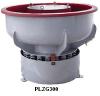 vibratory finishing machine with sound proof lid
