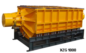 XZG1800 vibratory finishing machine